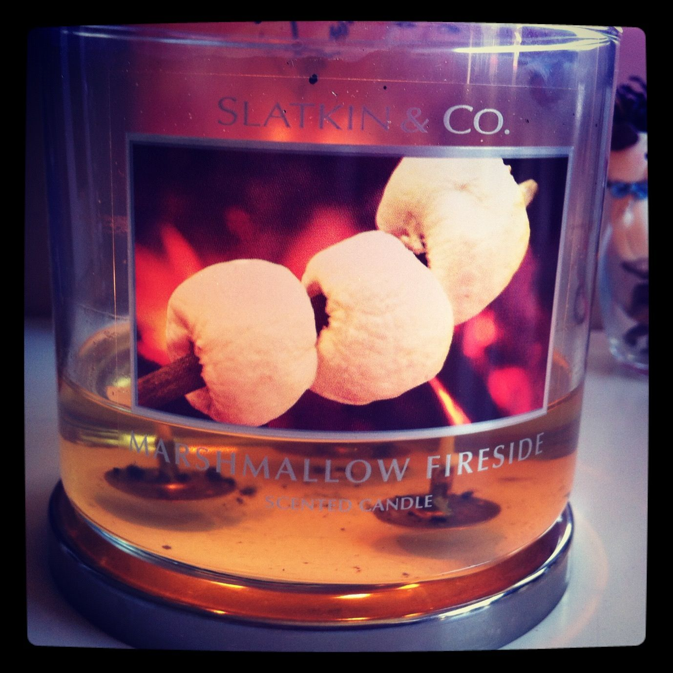 Love this fall smell from bath and body!