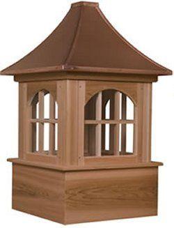 Cupola - Bethany - Cedar - 24Lx24Wx48H | Barn cupola ...