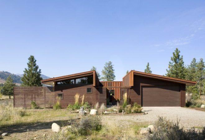 Best Passive Solar Nahahum Cabin Overlooks Dramatic Canyon 400 x 300