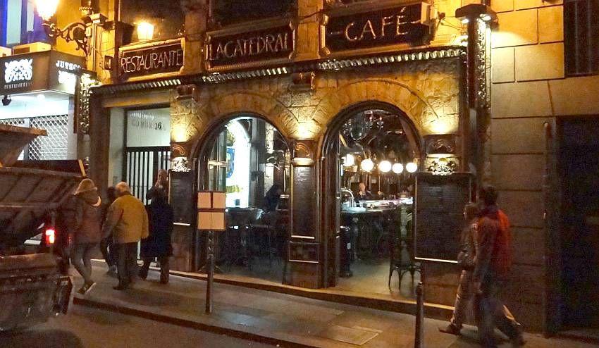 Restaurante caf la catedral restaurants coffee shops - Restaurante tokio madrid ...