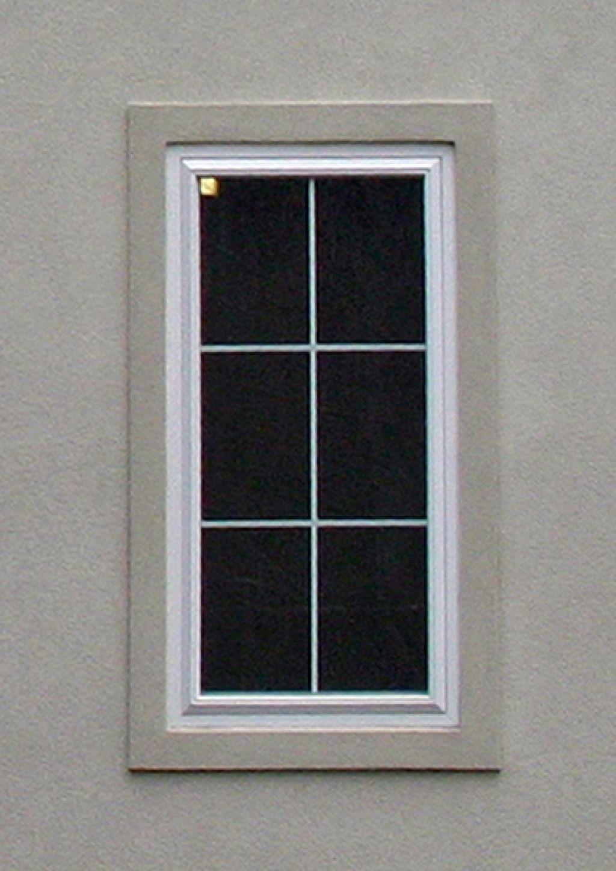 Exterior Stucco Window Trim