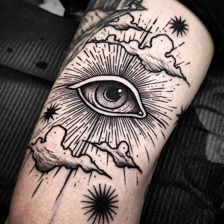 Photo of #face #space #tattoo #mountains #forest #dark – tattoos –