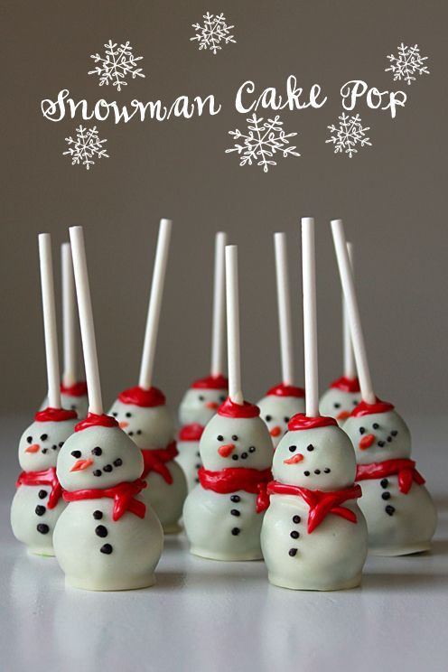 Snowman Cake Pops Recipe Gifts For Teachers Pinterest