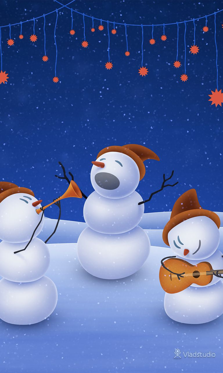 a christmas song · desktop, android, and iphone wallpapers