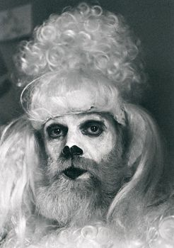 """Kjartan Slettemark, """"The artist as a poodle,"""" 1975.  NOTHING COMES TO MIND."""
