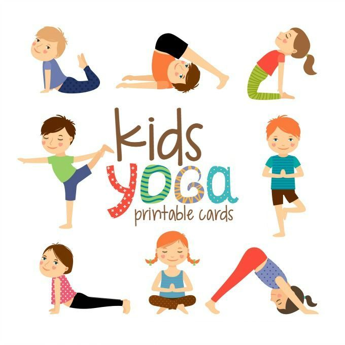 Yoga Cards For Kids Parenting Chaos Childrens Yoga Mindfulness For Kids Toddler Yoga