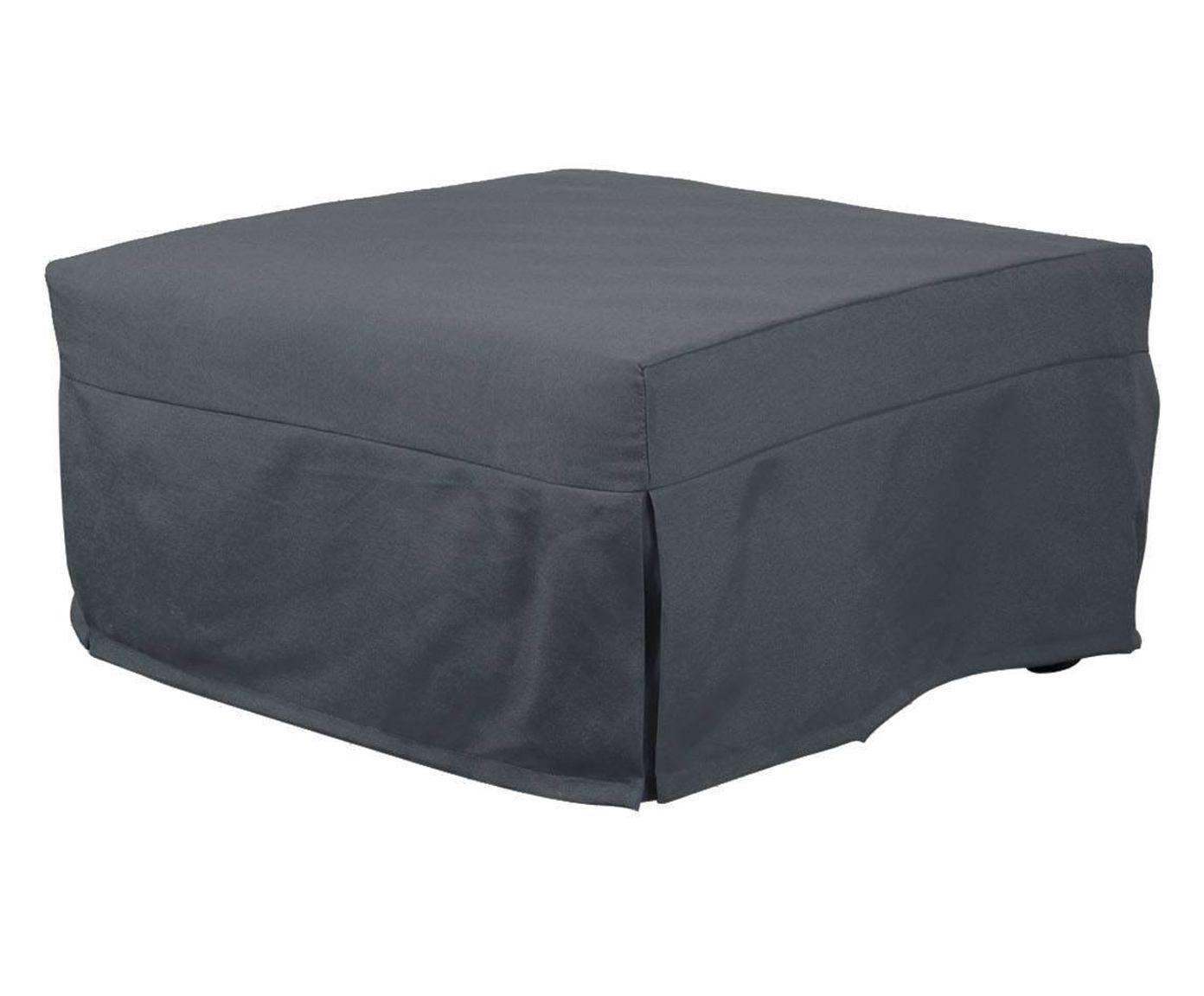 Pouf letto evolution grigio 80x45x80 cm dalani home for Pouf dalani