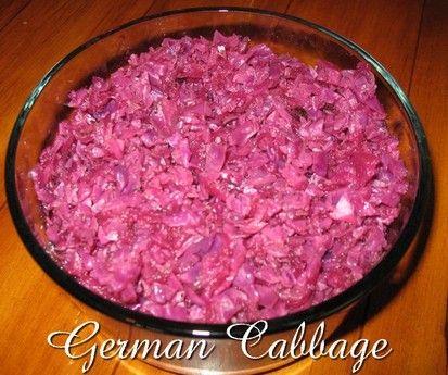 German Cabbage http://www.momspantrykitchen.com/german-cabbage.html