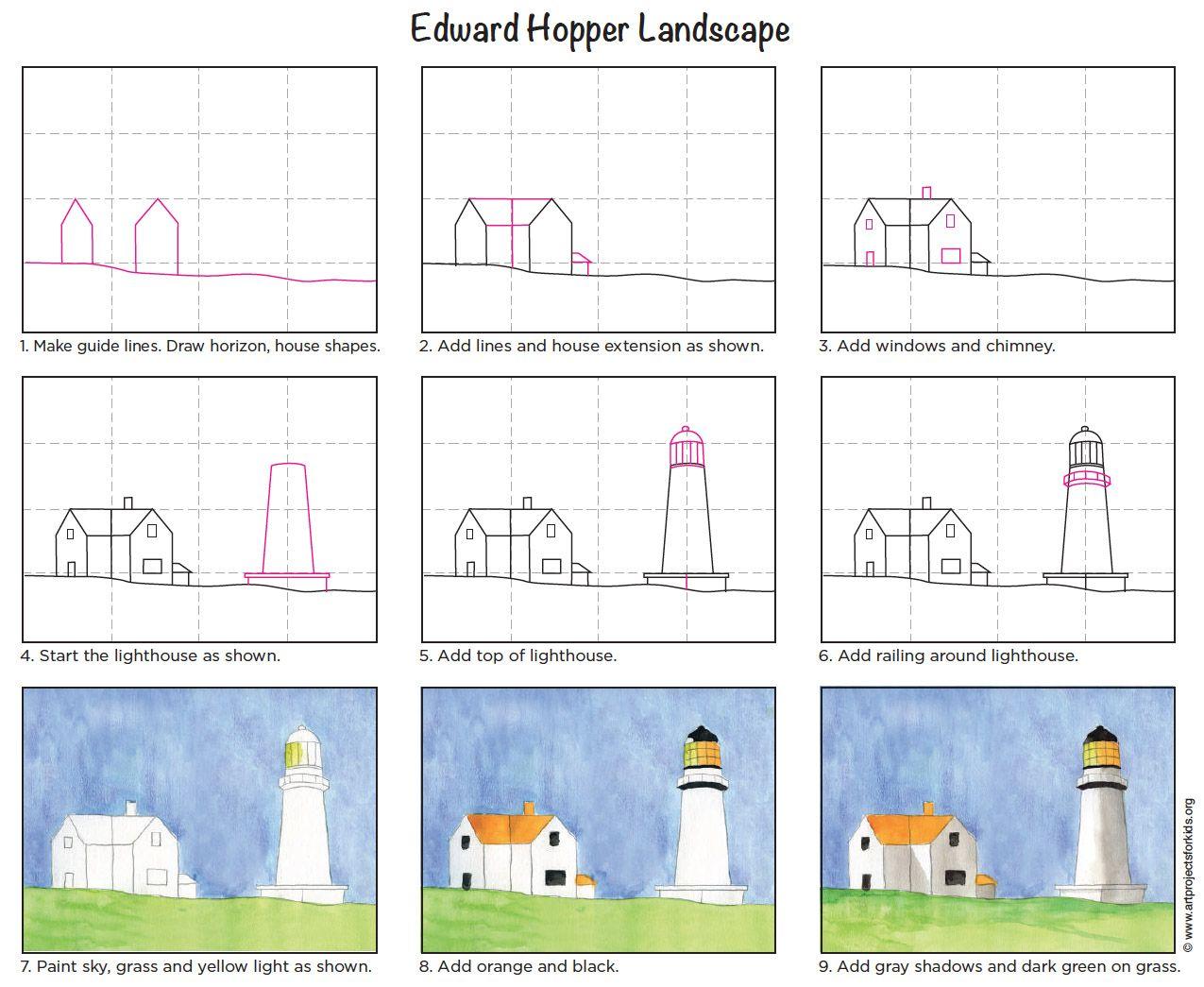 Hopper Landscape Tutorial