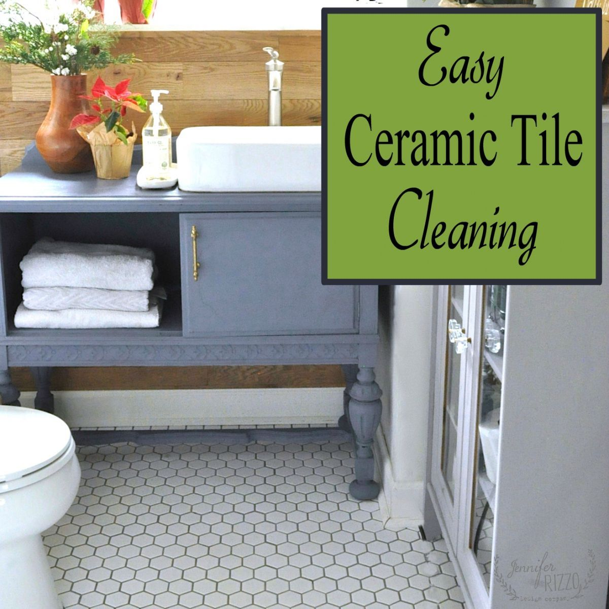 Discover the easy way to clean your ceramic tile with the