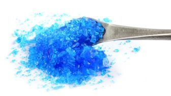 Anhydrous copper sulfate is a pale green or gray white - Copper sulfate pentahydrate swimming pool ...