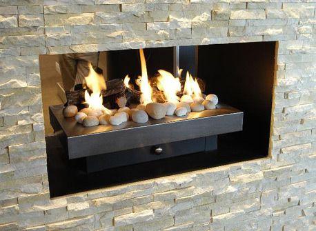 Illusion Gas Log Fire Gas Logs Log Fires Outdoor Decor