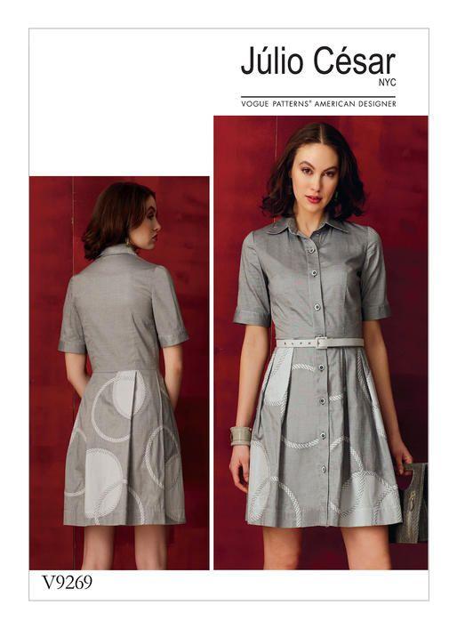 V9269 | Vogue Patterns | Tailoring inspirations | Pinterest | Costura