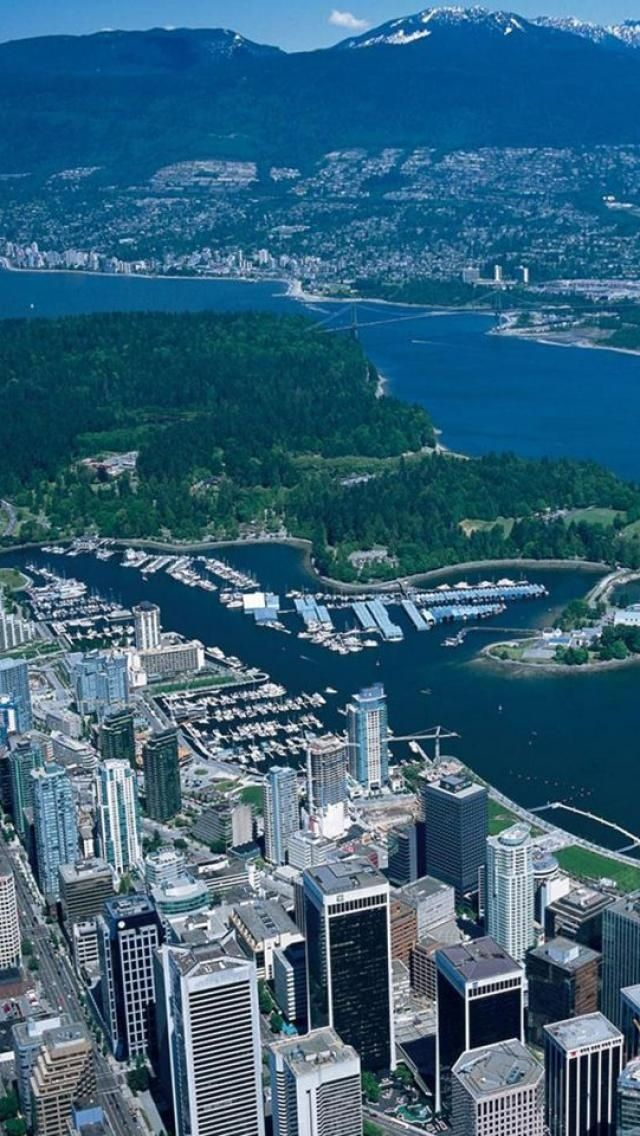 Vancouver Is A Coastal Seaport City On The Mainland Of British