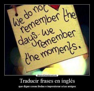 Frases De Espanol Traducidas Al Ingles Karmashares Llc