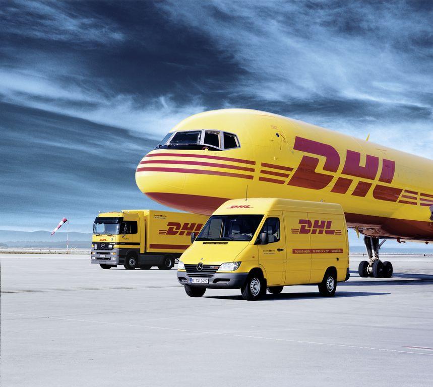 Hannover Airport DHL Express neuen