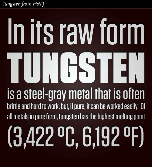 Tungsten typeface from Hoefler & Frere-Jones