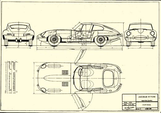 Jaguar E-Type Series 1 Coupe | Jaguar E-Type | Pinterest | Cars ...