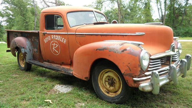 70b2a03f9d Rare and original 1947 Hudson truck for sale on Ebay