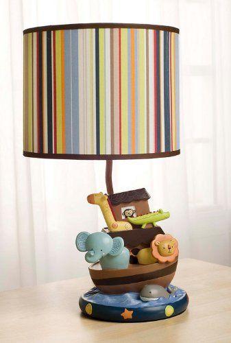 Baby Kids Line Ark Animals Lamp Base And Shadethis Hand