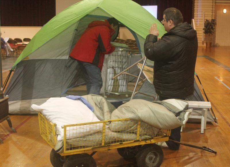 Homeless Advocates Join Forces At Gcu Symposium Tent Outdoor Bed Homeless