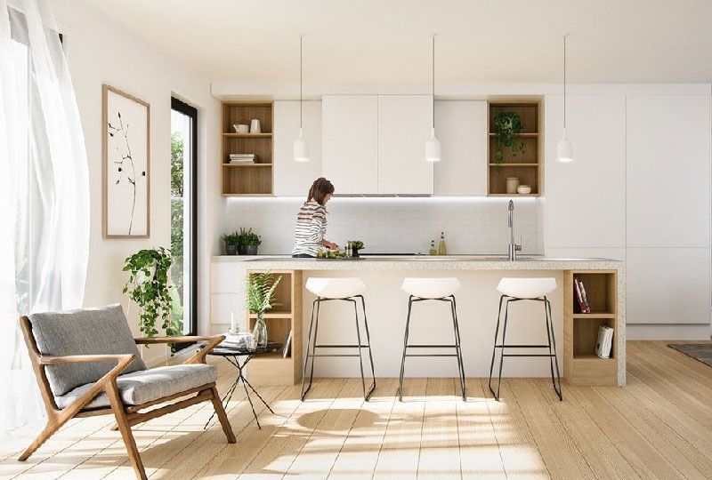 Una cucina Feng Shui | Home Decor in 2019 | Minimalist ...