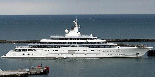 Schönste yacht der welt  Roman Abramovichs Eclipse wird schon bald nicht mehr die größte ...