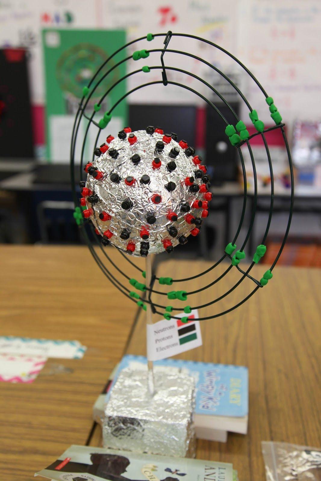 3 Dimensional Atom Projects | Atom | Pinterest | Atom ...