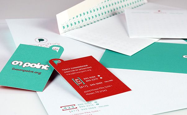 Stationery package for On Point