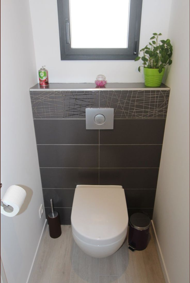 Incroyable 1000 ideas about deco wc on pinterest wc - Toilette noir et blanc ...