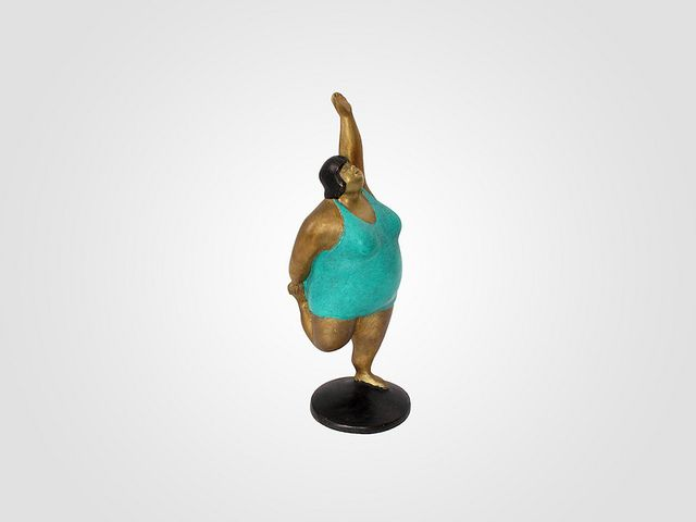 fat yoga  | Fat Lady Sculpture In Yoga Pose (for sale) | Flickr - Photo Sharing!