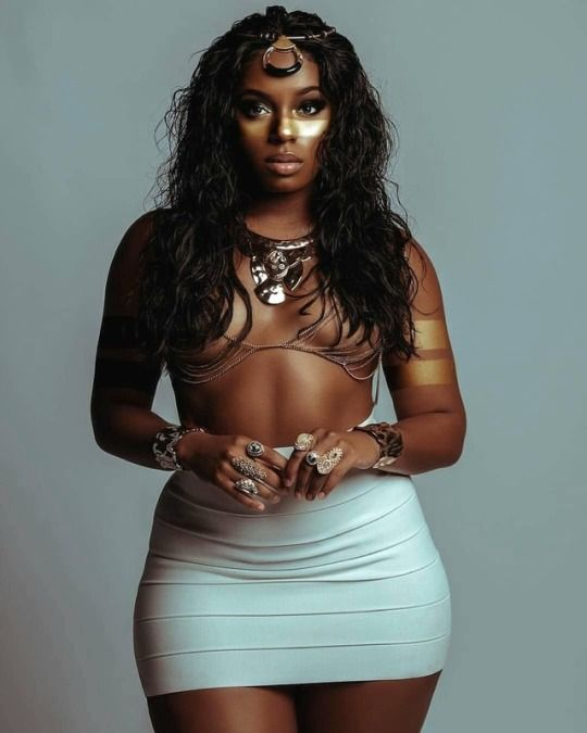 beautiful black ebony women