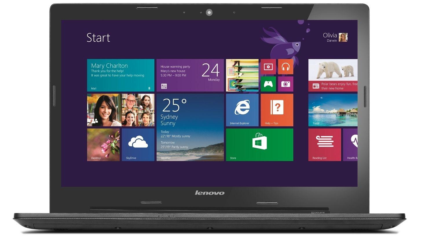 """Lenovo G5045 15.6"""" Laptop Domayne Tablets, Windows"""