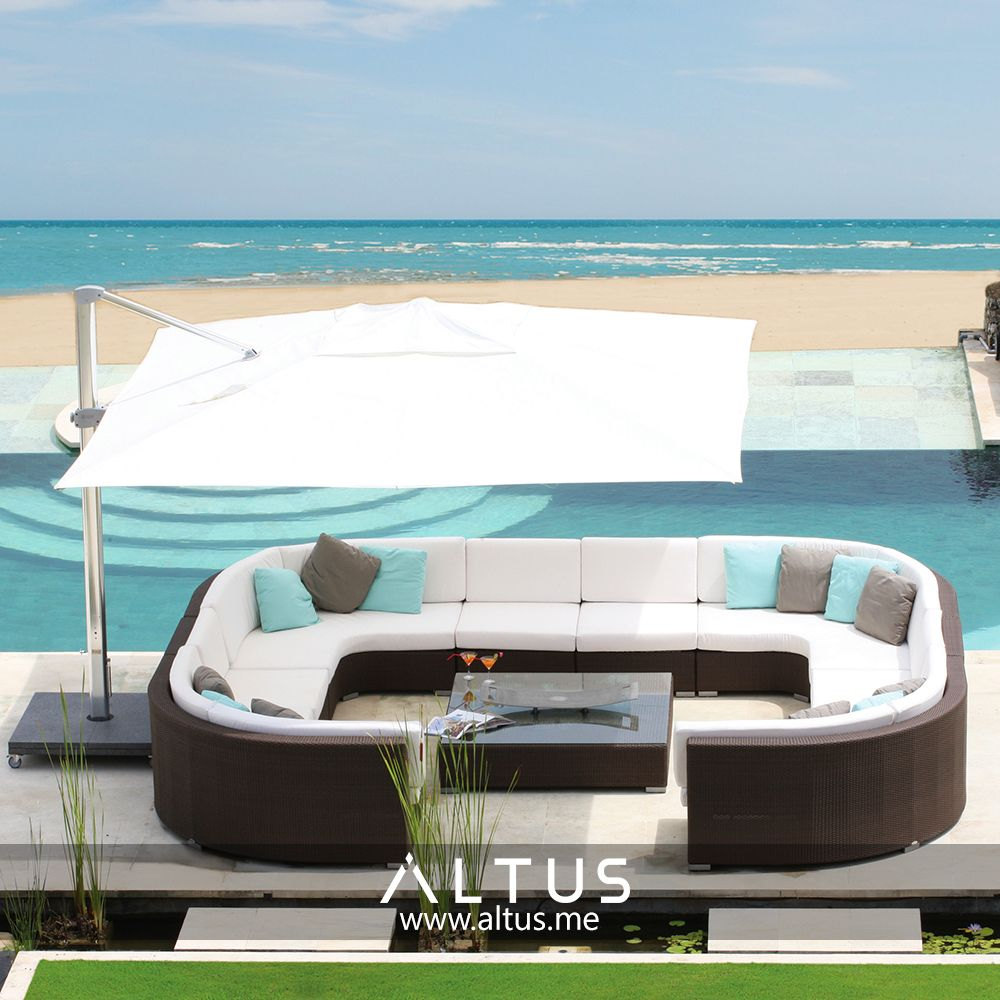 The Pacific Cube Outdoor Furniture Collection By