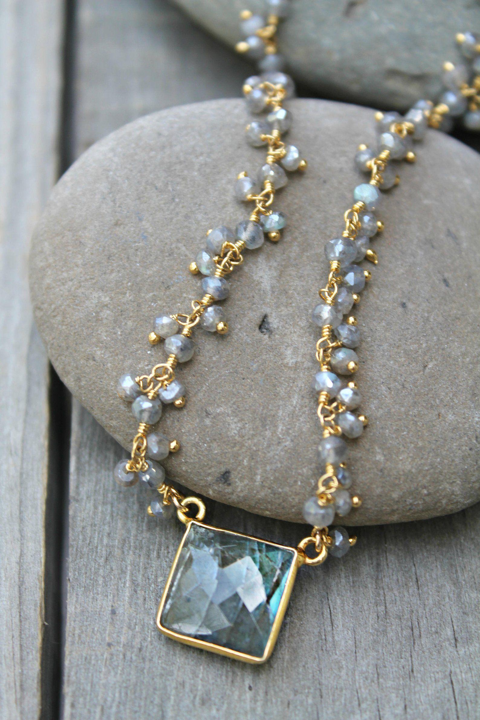 Create Handmade  Gold Plated  Designer Pendant  Labradorite Pendant  Jewellry  Pendant  Beautiful Pendant    Fashion Pendant