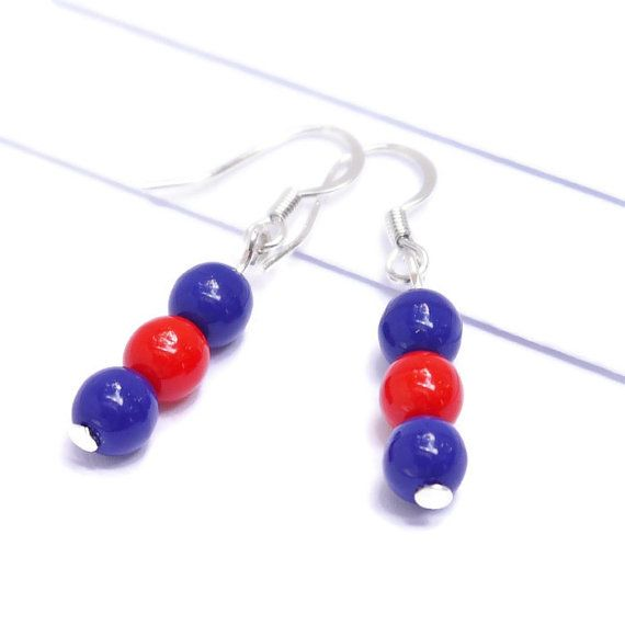 Football earrings for the sports fan who is proud of her team, not just on game day, but every day.