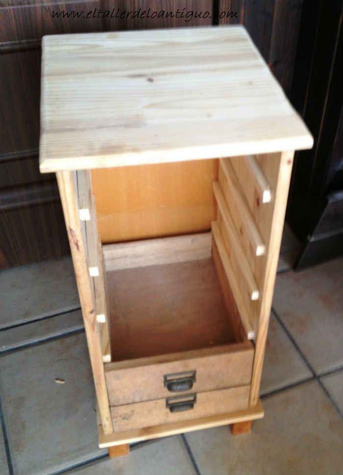 Hacer mueble con unos cajones 01 muebles de taller - Mueble para herramientas ...