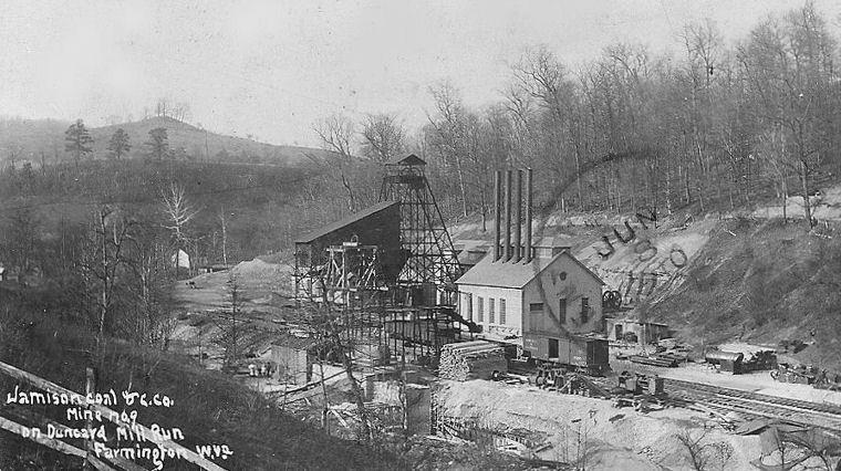 west virginia coal mines 1940s jamison coal amp coke co