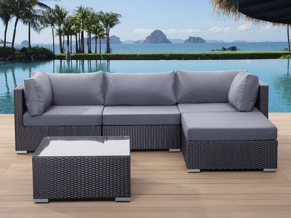 terrassenm bel rattan. Black Bedroom Furniture Sets. Home Design Ideas