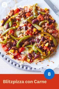Ricetta Blitzpizza con Carne | WW Germany