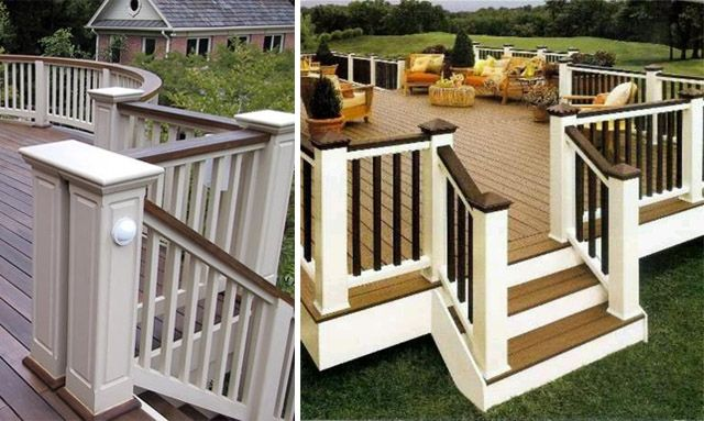 2 Tone Deck Outdoor Spaces My Dream Home Patio