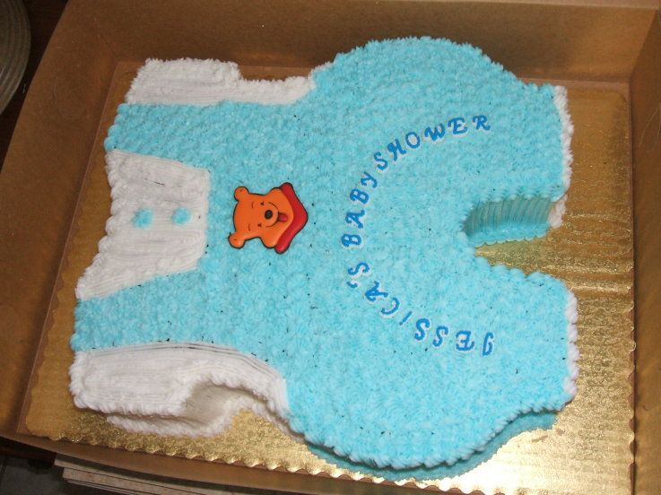 Simple Boy Baby Shower Cakes ~ Simple it s a boy cakes it s a boy baby shower cake cake
