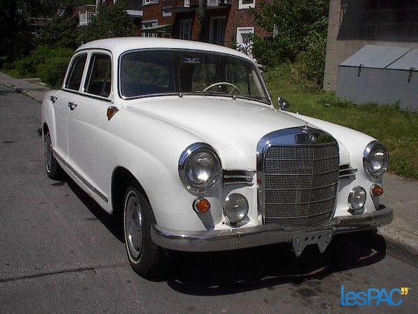 Mercedes 190D 1959 - PRIX REDUIT POUR VENTE RAPIDE A QUI LA CHANCE
