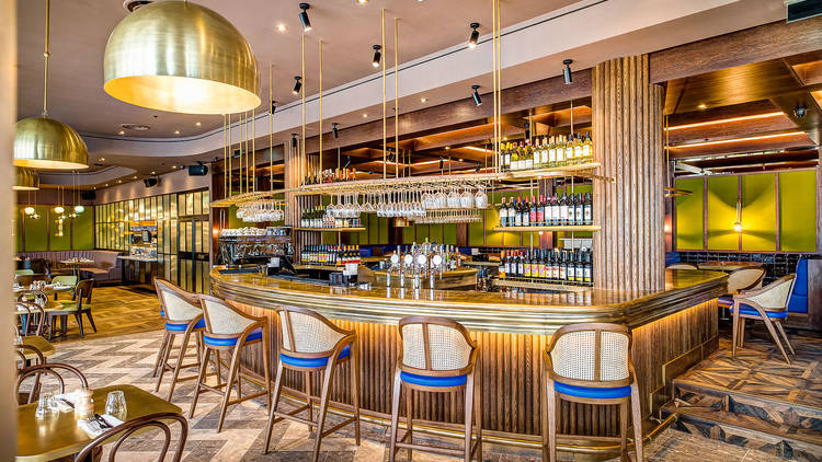 Coppa Club | London interior, Rooftop bar, Restaurant interior