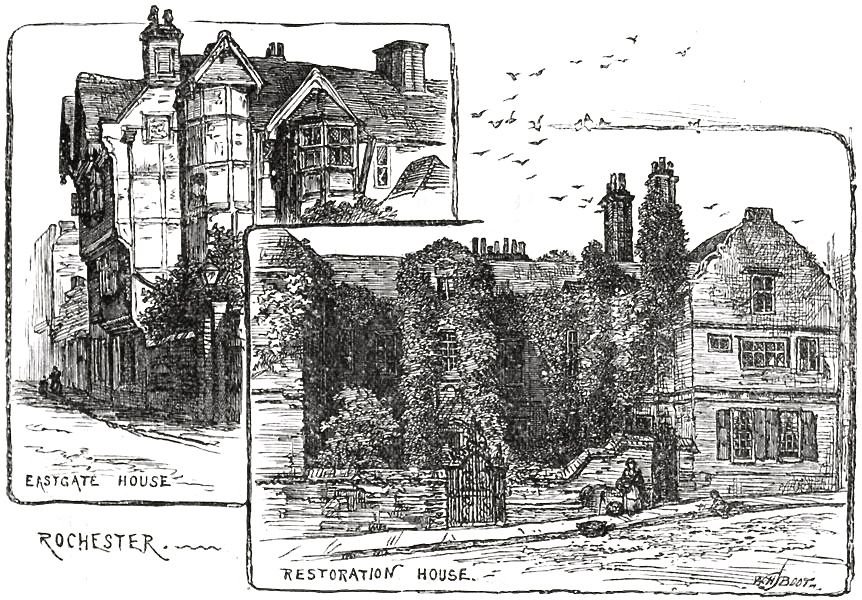 Eastgate House and Restoration House, Rochester, Kent