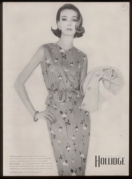 Hollidge Dress 1962