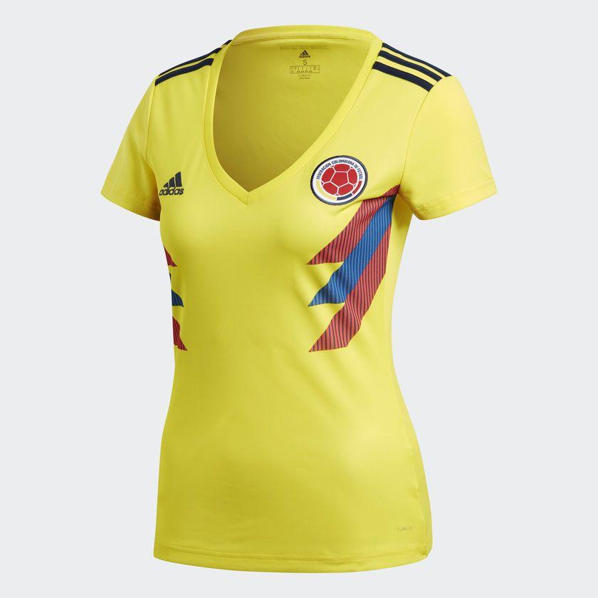 adidas Camiseta Selección Colombia Local - Amarillo  082950710