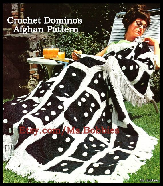 Crochet Domino Afghan Pattern - Game Lover Afghan - PDF 07282132 ...