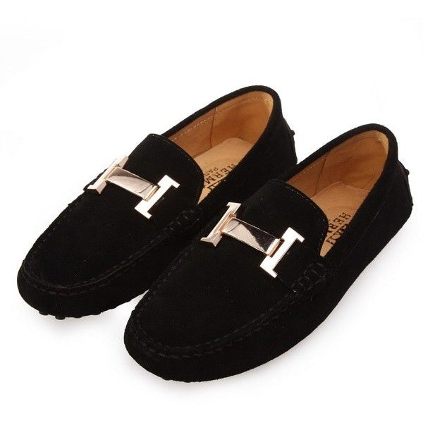 89bf7d30f39 Hermes loafer found on Polyvore featuring polyvore