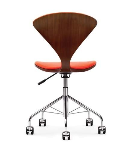 1958 Molded Plywood Task Chair/ designed by Norman Cherner